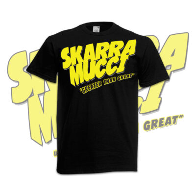 T-shirt-Skarra-Greater-jaune